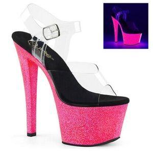 Pleasers stiletto/platform shoe